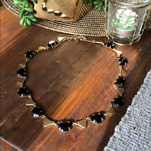 MADEWELL Black and Gold Necklace